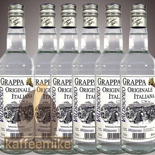 Grappa Valdisonzo Invecchiata Weiss 0,7l 38% Vol