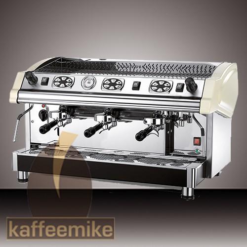 Royal Tecnica Elettronica Espressomaschine - 3gruppig weiss