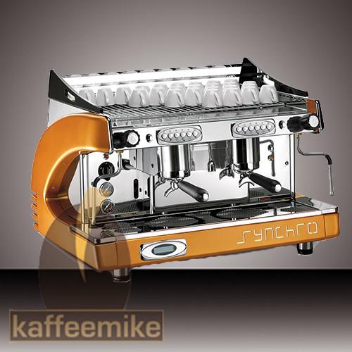 Royal Synchro Espressomaschine - 2gruppig Orange