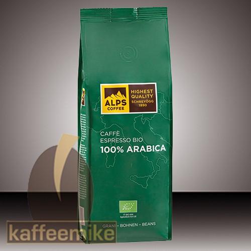 Schreyoegg 100% Arabica Bio Kaffee Espresso - 1000g Bohnen