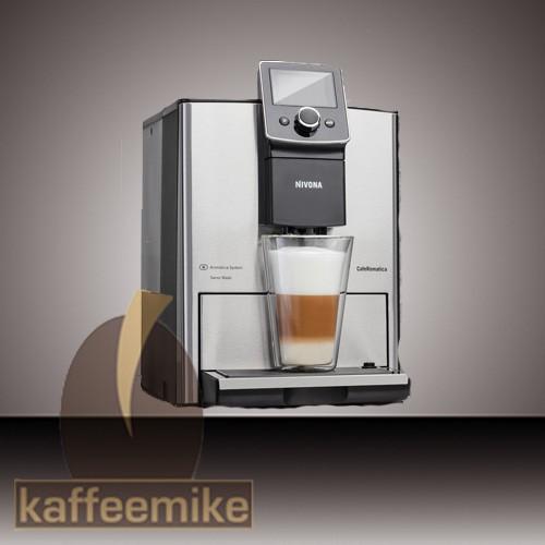 Nivona CafeRomatica NICR 825 Kaffeevollautomat Chrome