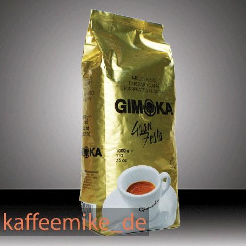 Gimoka Kaffee Espresso - Oro Gran Festa Gold, 1000g Bohnen