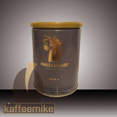 Hausbrandt Moka Espresso Kaffee 250g Dose gemahlen
