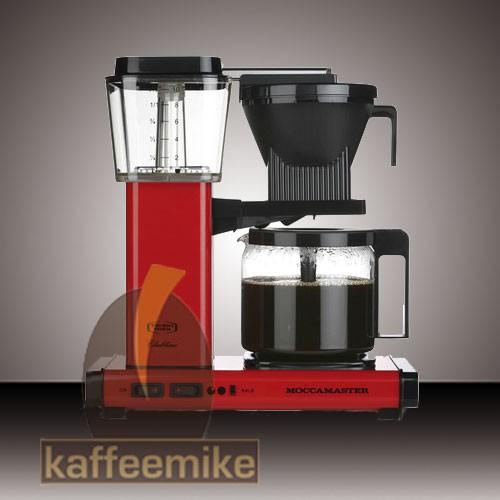 Moccamaster KBG 741 Select Rot Filterkaffeemaschine