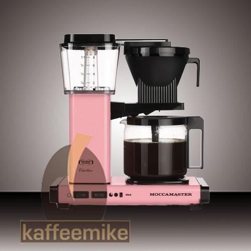 Moccamaster KBG 741 Pink Filterkaffeemaschine mit Glaskanne