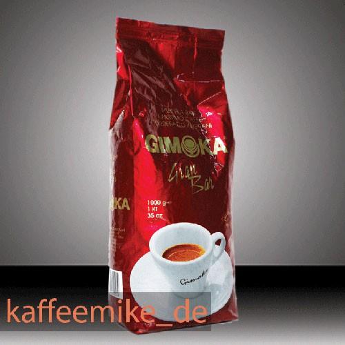 Gimoka Kaffee Espresso - Gran Bar Rosso, 1000g Bohnen
