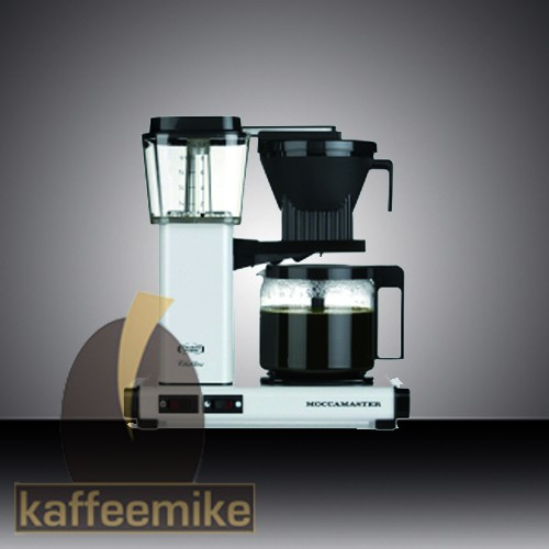 Moccamaster KBG 741 Select weiss Filterkaffeemaschine mit Glaskanne
