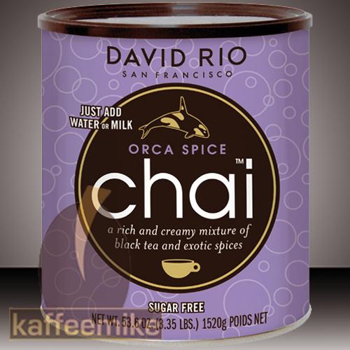 David Rio Orca Spice Chai Tee 1520g Dose