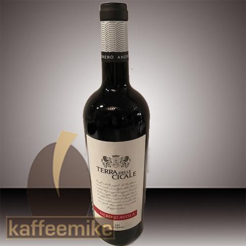 Nero D,Avola Cicale Rotwein 0,75l