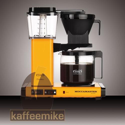 Moccamaster KBG 741 Select Gelb Filterkaffeemaschine mit Glaskanne