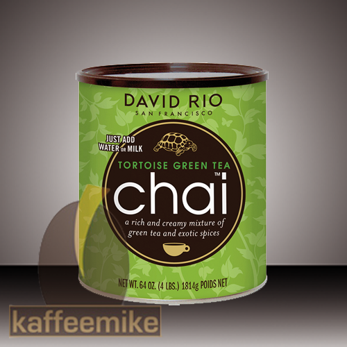 David Rio Tortoise Green Chai Tee 1814g Dose
