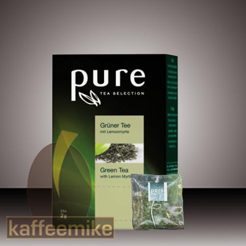 Pure Tee Gruener Tee mit Lemon Selection Tea 25x2g
