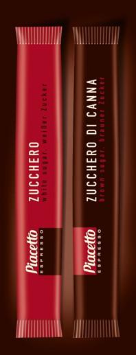 Piacetto Zuckersticks 1000 Stueck braun