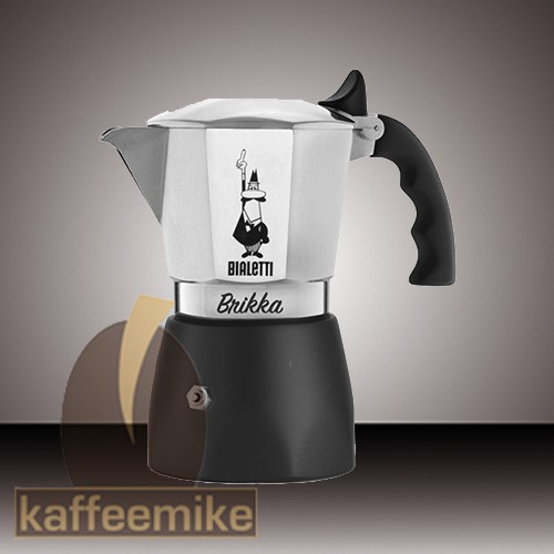 Bialetti New Brikka Espressokocher 2 Tassen
